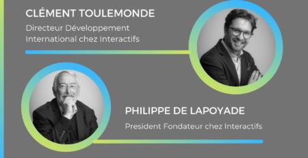 Philippe De Lapoyade et Clement Toulemonde